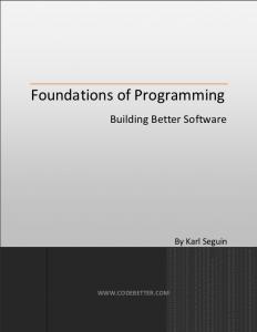 اصول برنامهنویسی-Foundations of Programming